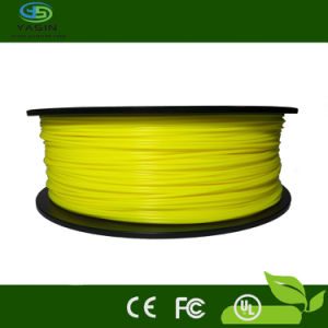 3D Printer ABS Filament 1.75 in Yellow Color 1kg