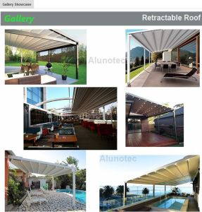 Retractable Awning Pergola Roof Car Park