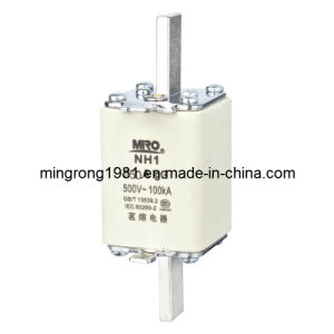 Square Pipe Fuse with Knife Contacts Nh1 250A