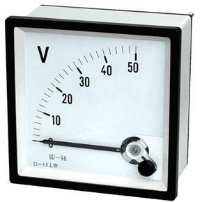 SD96 Moving Coil instrument DC Voltmeter