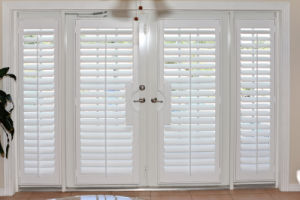Bwood Bi Fold Indoor Window Shutters For French Doors 64mm