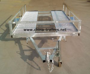 Hot DIP Galvanized Golf Cart Trailer (TR0103) pictures & photos