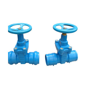 Socket End Resilient Seated Gate Valve Pn16 pictures & photos