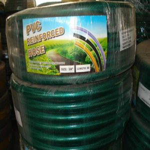 PVC Water and Garden Hose with Fiber Reinforcement