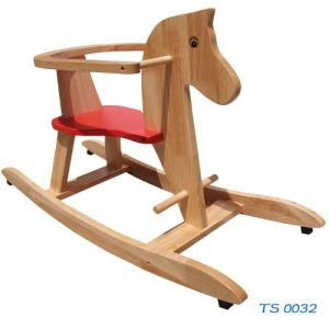 China Wooden Toys Rocking Horse (TS 0032)