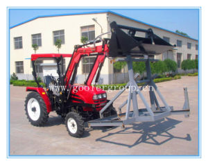 LZ254 Mini Tractor with 4in1 Bucket Front End Loader and Backhoe, Tractor Attachments pictures & photos
