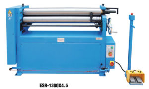 Metal Electric Slip Roll Machine with 3 High Strength Steel Rolls (ESR-1300X2.5 ESR-1300X4.5) pictures & photos