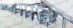 Ce Proved High Capacity Biscuit Line Hj-600 pictures & photos