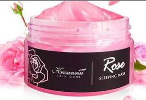 Rose Whitening Moisturizing Face Mask