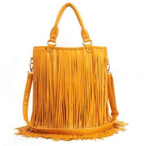 China 2017 Hot Ing Spainish Women Bags Tassel Designer Handbags Handbag Patchwork