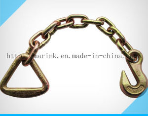 USA Standard Chain with Delta Ring and Grab Hook pictures & photos