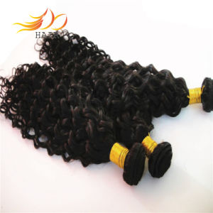 6A Brazilian Jerry Curl Virgin Human Hair Extension pictures & photos