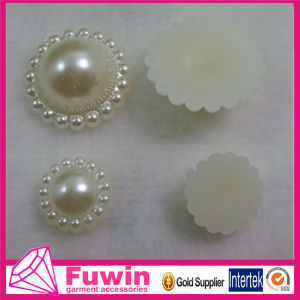 Fuwin High Quality Flower ABS Pearl Fake Pearl Beads