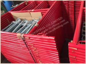 Powder Coated Ladder Scaffolding Frame, H Scaffolding Frame