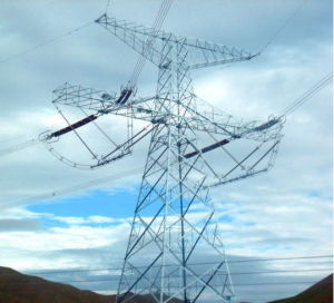 Uhv Angle Steel Transmission Line Tower pictures & photos