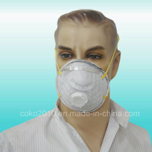 Nonwoven Face Mask with Tie-on Bands pictures & photos