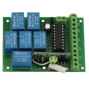 Motor Remote Controller with Wireless Relay Output pictures & photos