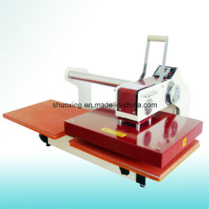 Manual Two Station Heat Press Machine, Manual Heat Transfer Press pictures & photos