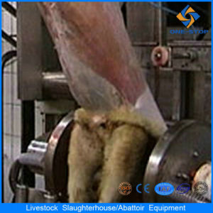 Slaughter House Sheep/Goat Skin Removed Machine