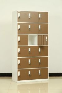 Cheap Furniture Manufacturer 15 Door Safety Steel Locker for Shoes pictures & photos