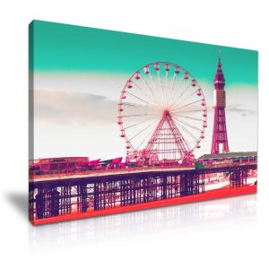 Ferris Wheel Frame Art Decorative Art Picture for Wall