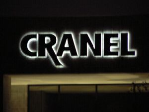 3D Outdoor Signage Illuminated Signage Letters