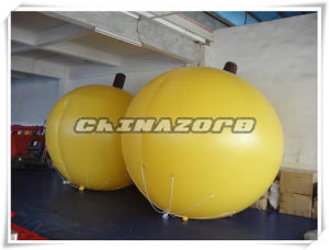 High Emulational Apricot Shaped Helium Balloon Inflatable Balloon
