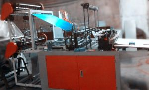 Double Layer Bottom Sealing and Cutting Bag Making Machine pictures & photos