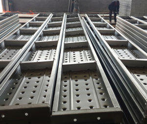 High Strength Scaffold Steel Plank with Hooks for Construction pictures & photos