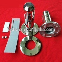 Ss316 Round Base Plate Glass Spigots for Glass Pool