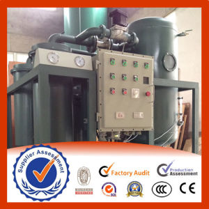 Continuous Vacuum Turbine Oil Filtration and Purification Plant pictures & photos