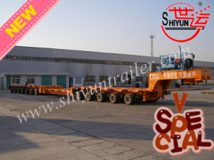 5 Axis with Connection Platform with 7 Axis Separable Hydraulic Modular Heavy Duty Semi Trailer
