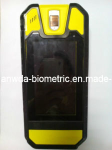 "5"" Fingerprint Handheld Terminal with RFID, Bar Code Scanner"