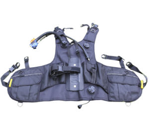Black Diving Buoyancy Compensator (BCD)