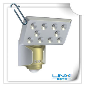 12W LED Sensor Light for Outdoor Use