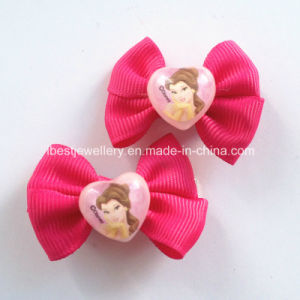 Hair Accessories for Kids -Plastic Heart Princess Hair Clips Set