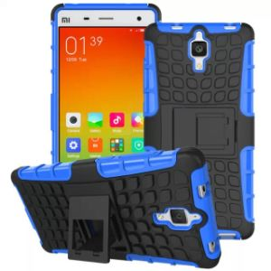 Protective Stand Combo Mobile Cell Phone Case for Xiaomi Mi4