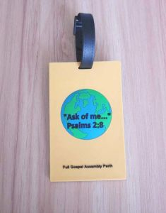 Soft PVC Jewish Travel Bag Tags pictures & photos