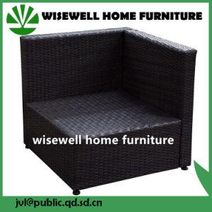 China Outdoor Sectional Furniture Pe Wicker Rattan Single Sofa Wxh