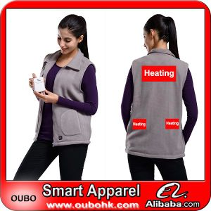 Battery Heated Clothing >> Women Vest With High Tech Electric Heating System Battery Heated Clothing Warm Oubohk