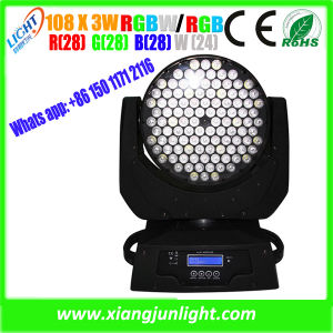 New 108PCS 3W RGBW Wash Stage Light Moving Head pictures & photos