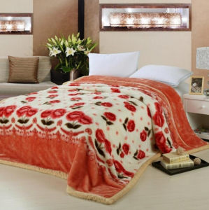 High Quality Customized Double Layer Mink Blanket pictures & photos