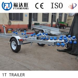 Heavy Duty Three Axles Boat Trailer Transport Trailer Set pictures & photos