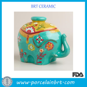 Lovely Elephant Porcelain Storage Jar pictures & photos