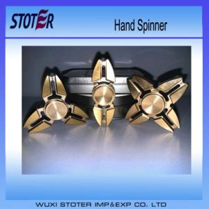 Fidget Spinner Stainless Steel Hybrid Ceramic Bearings 608 LED Tri Spinner