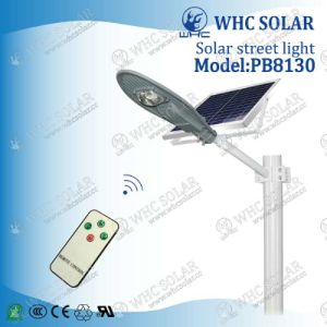 Whc New Design 30W Waterproof All in One Solar LED Street Light pictures & photos