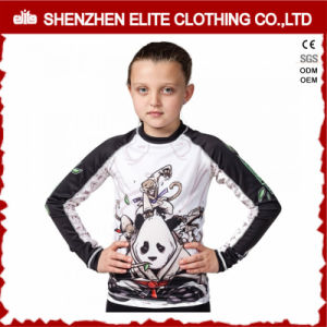 Wholesale Cheap Custom Dry Fit Fashion Sublimated Boys Swim Shirts (ELTRGJ-300) pictures & photos