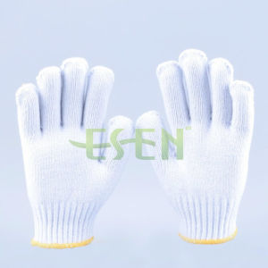 700gram Cheap Hot Sale Working Knitting Gloves with Cotton Material pictures & photos