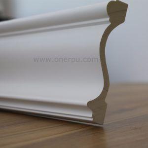 Polyurethane Simple Staircase Molding Trim PU Cornice Moulding Hn 8648