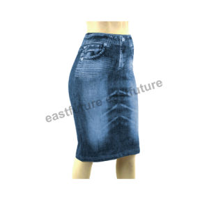 Europ Fashion Really Pockets Caresse Jeans for Women Skirt pictures & photos